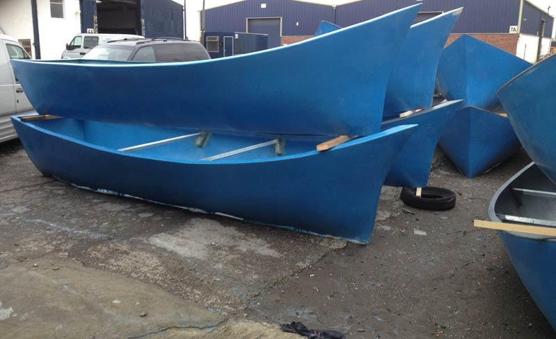 Boat Planters