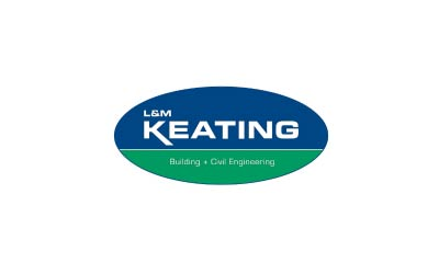 l+m keating logo