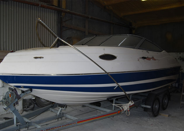 fibreglass boat repair
